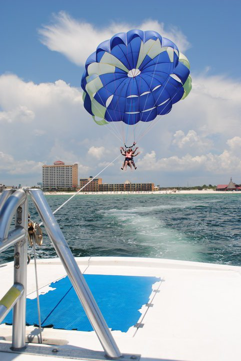 Parasailing Rides In Panama City Beach Florida