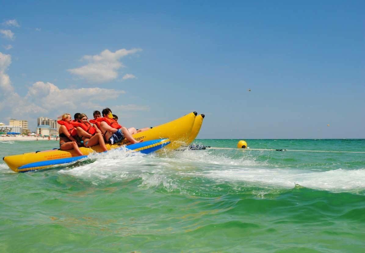 Banana Boat Ride In Panama City Beach Adventures At Sea