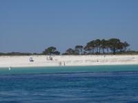 Coastline of Shell Island