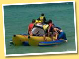 Fun on Banana Boat Rides