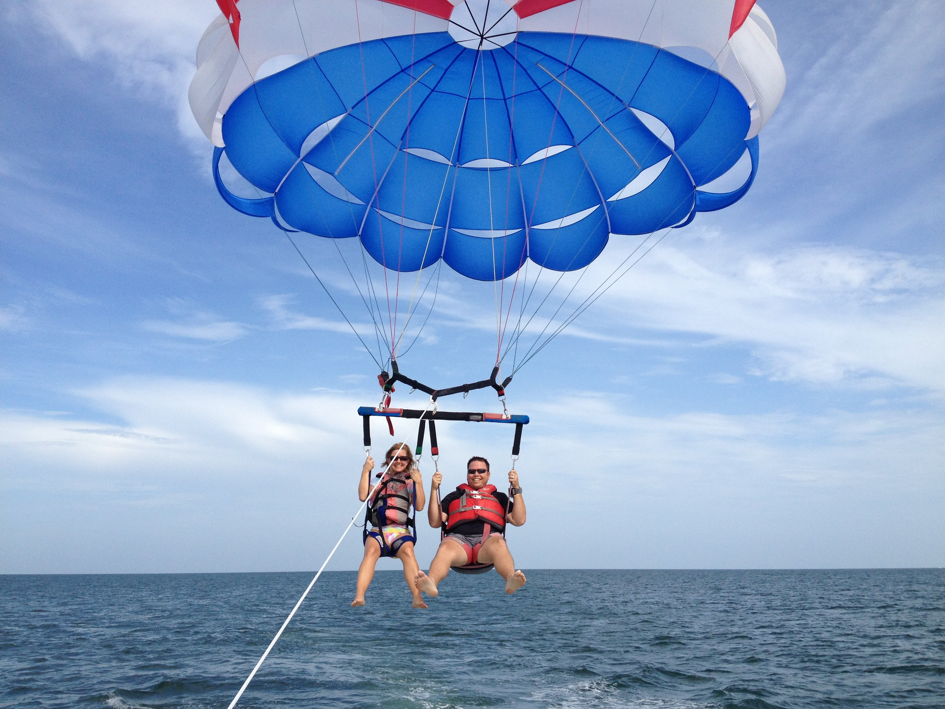 Parasailing in Florida