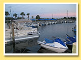Pontoon Boats at our Marina