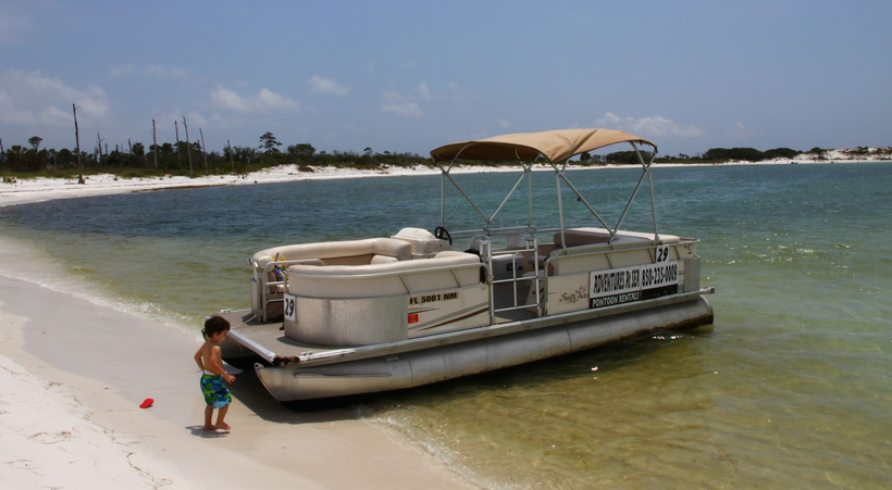 Pontoon boat panama city beach
