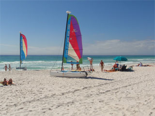 Sailboat Rentals on the Beach