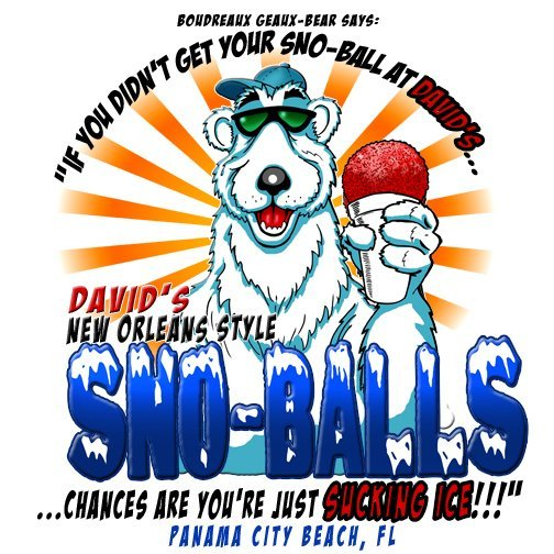 David's sno-balls Panama City Beach