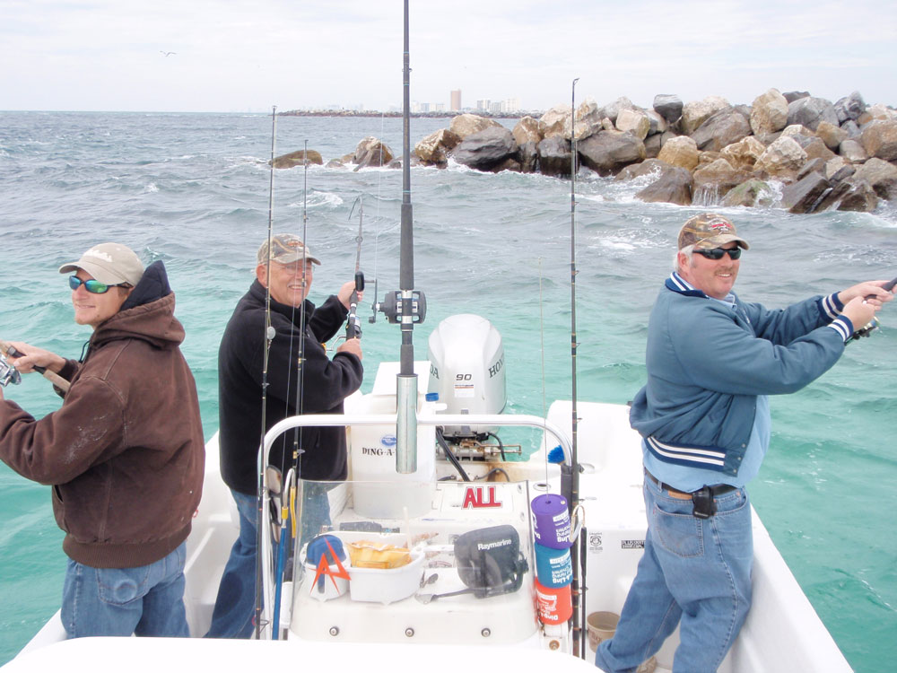 Charter fishing trips in panama city beach florida for Florida fishing vacations