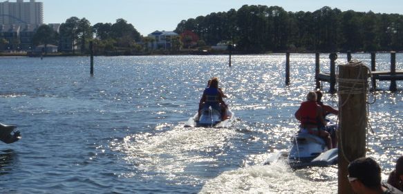 Jet ski panama city beach