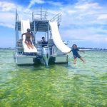Double decker pontoon boat rentals PCB FL Near Me