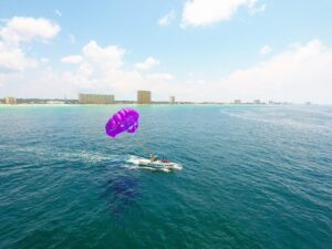 parasailing rides panama city beach