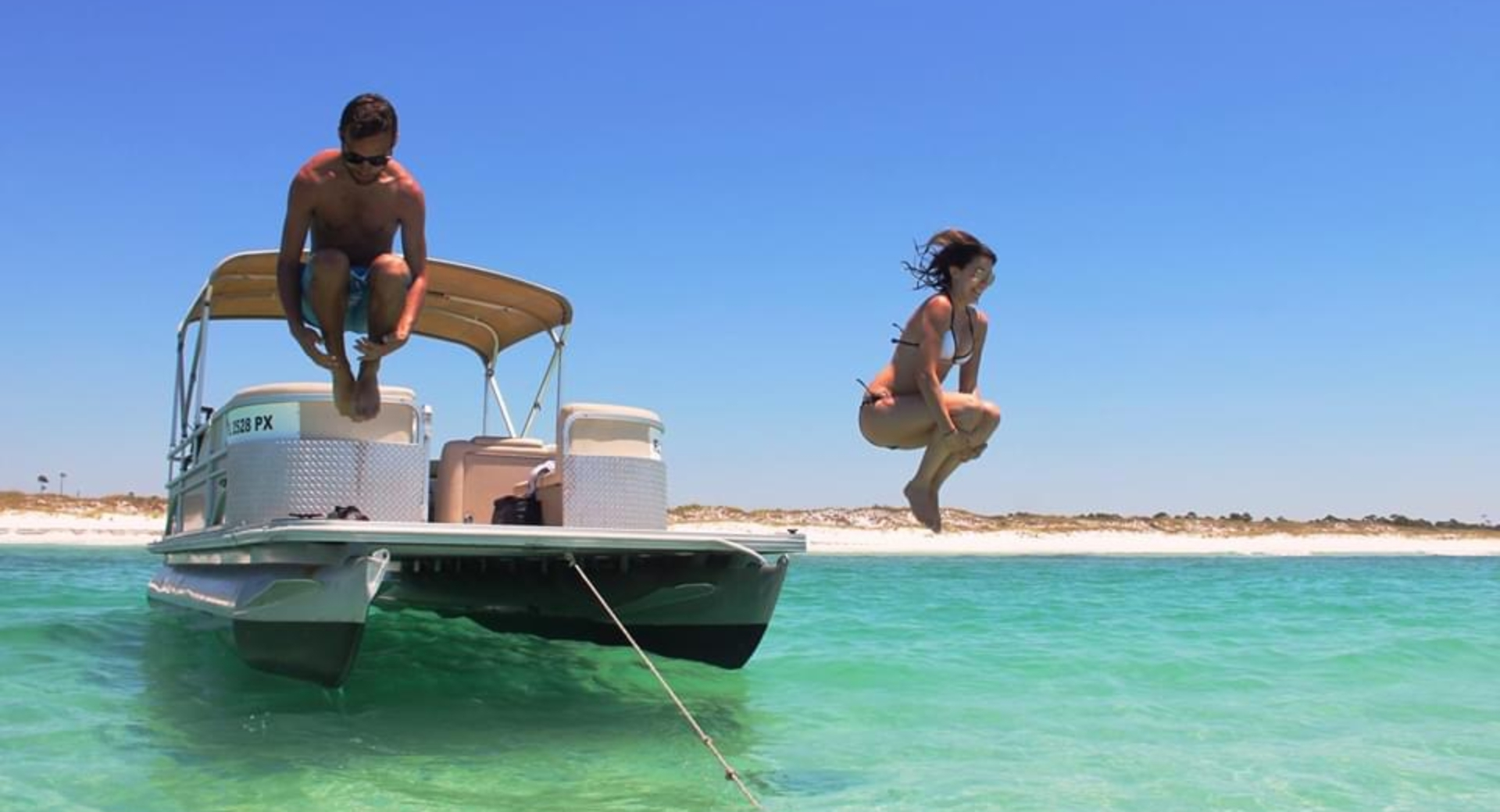 Pontoon Boat Rental Services Panama City Beach Florida